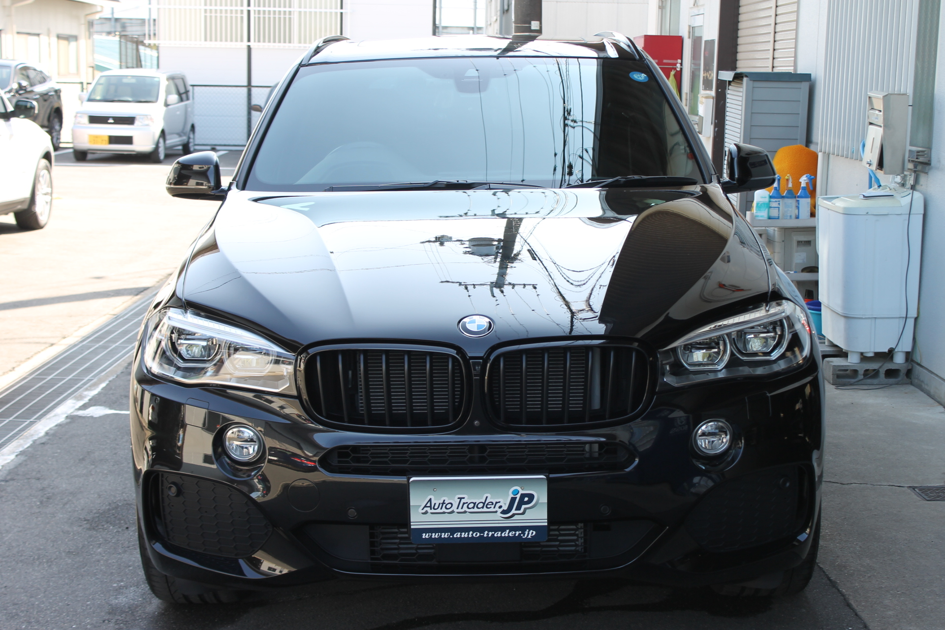 BMW X5 BLACKOUT納車です!(写真)