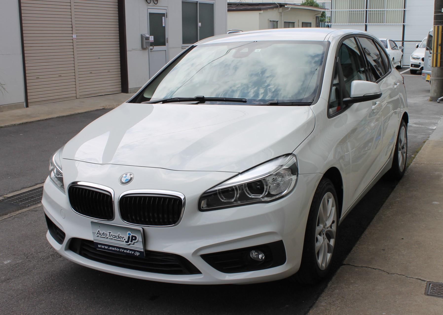 BMW 218iアクティブツアラー Fashionista御納車です!!(写真)