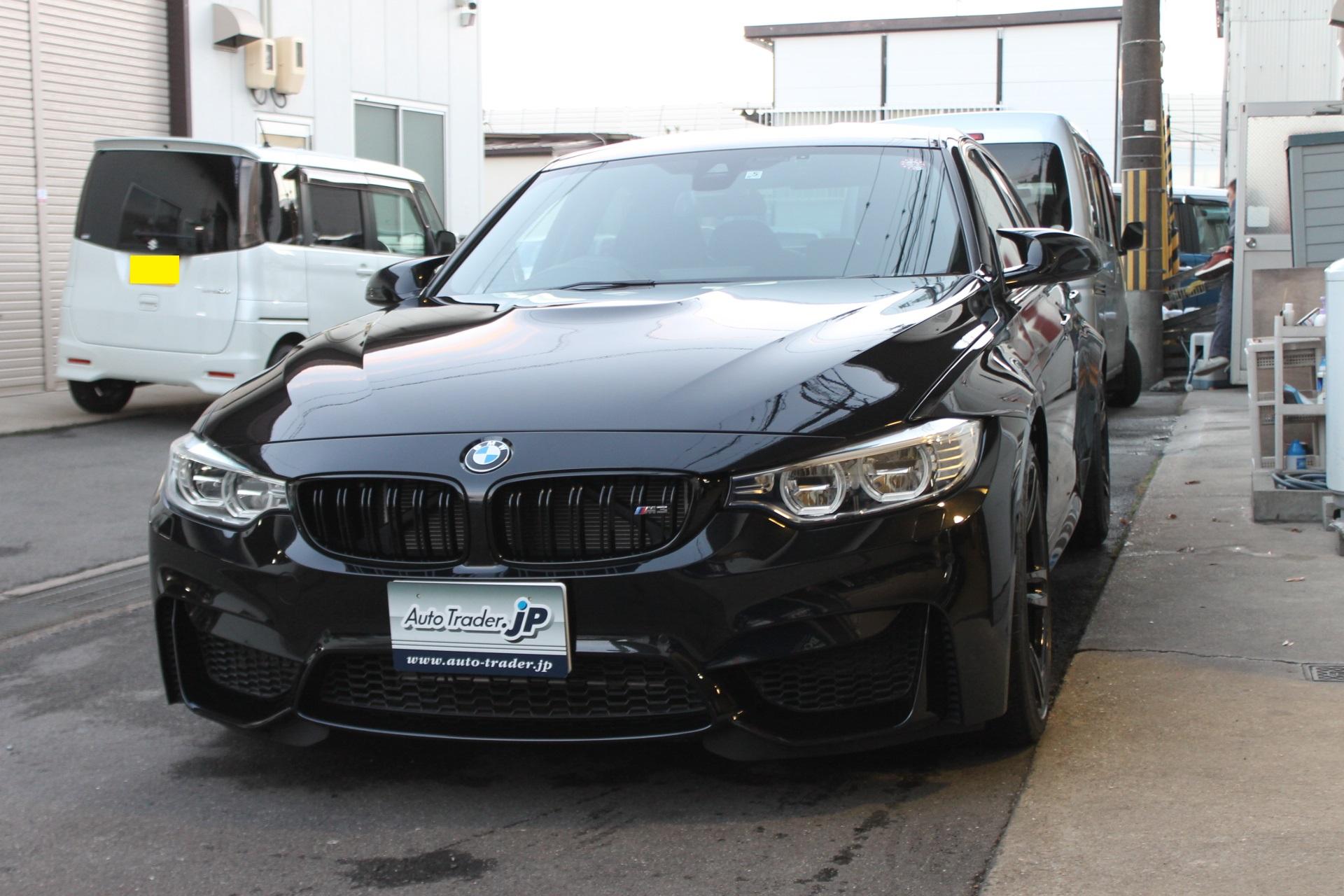 BMW M3セダン御納車です!!(写真)